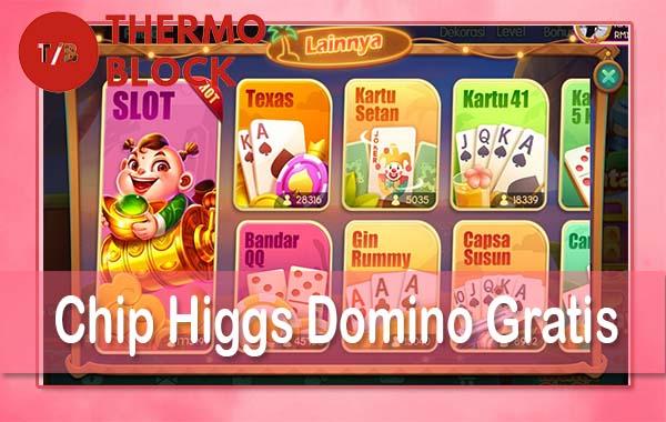 Chip-Higgs-Domino-Gratis